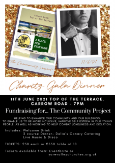 Charity Gala Dinner for 'The Community Project'