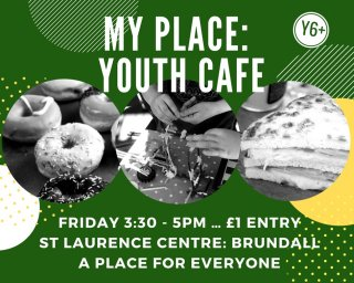 Weekly Youth Cafe - Term time only