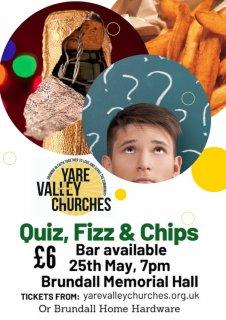 Quiz,Fizz & Chips Fundraiser
