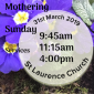 Mothering Sunday Services thumbnail